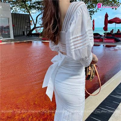 Shop bán váy maxi đi biển đẹp tại Cầu Giấy