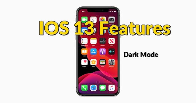 New Best Features in Apple IOS 13 - Qasimtricks.com