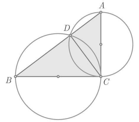 Teorema de Pitágoras baseado na potência de um ponto - Figura 7