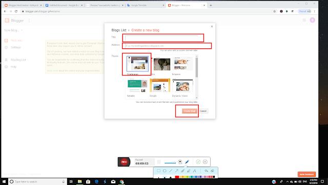 create website in google free