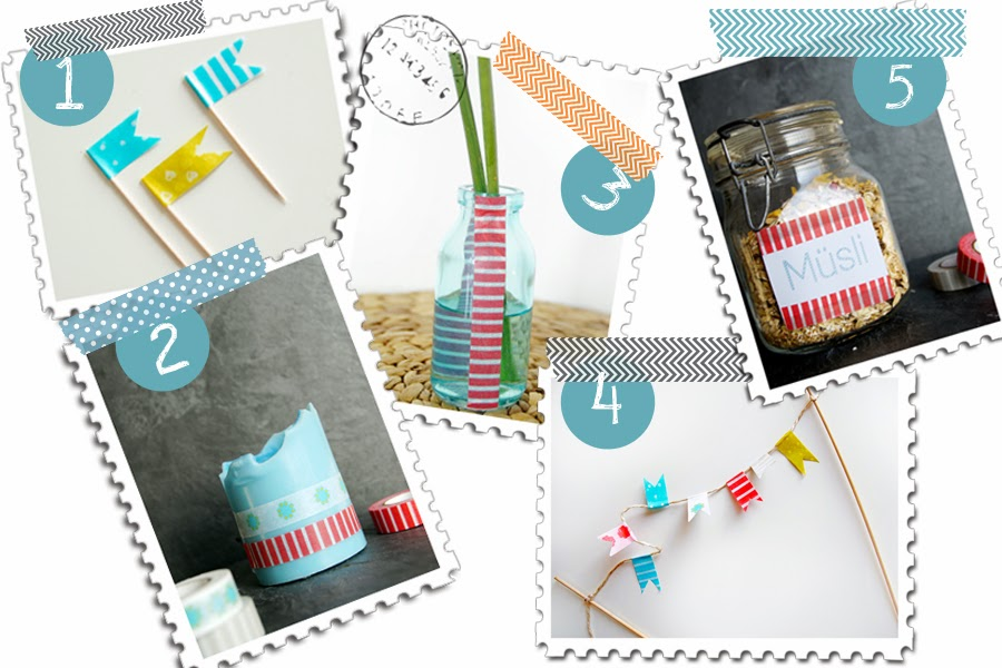 spoon and key food blog masking tape washi tape diy ideen. Black Bedroom Furniture Sets. Home Design Ideas