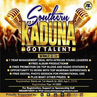 PRESS RELEASE: SOUTHERN KADUNA'S GOT TALENT