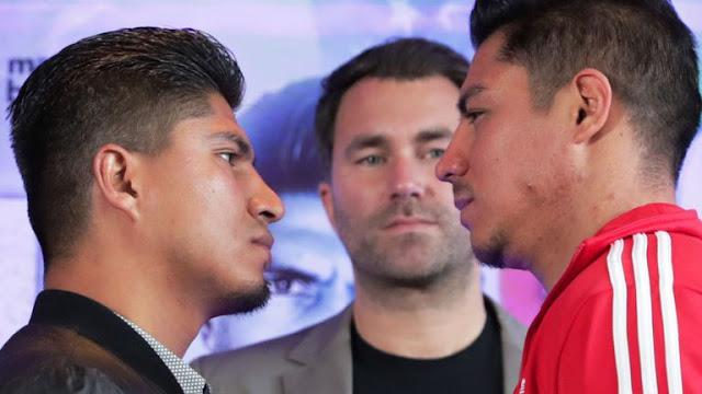 Mikey Garcia Vs Jessie Vargas face off