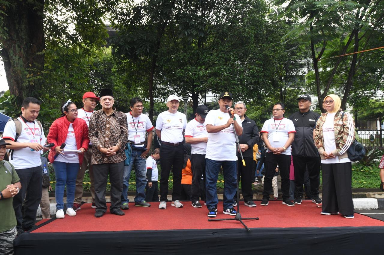Wagub Jabar Deklarasikan Gerakan Pembumian Pancasila