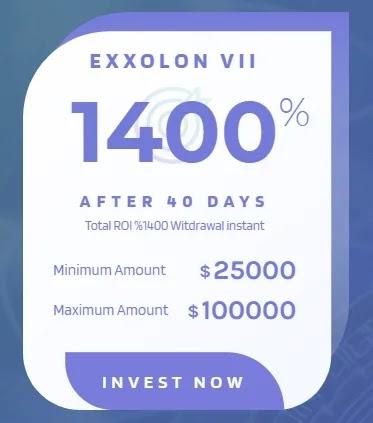 Инвестиционные планы Exxolon 3