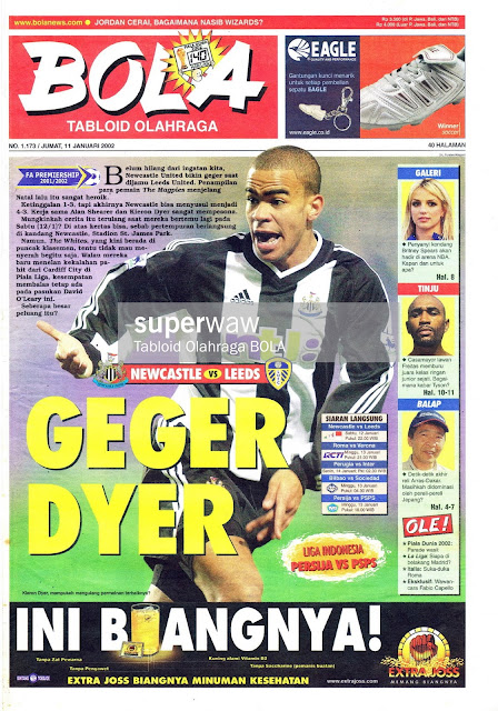 TABLOID BOLA GEGER DYER