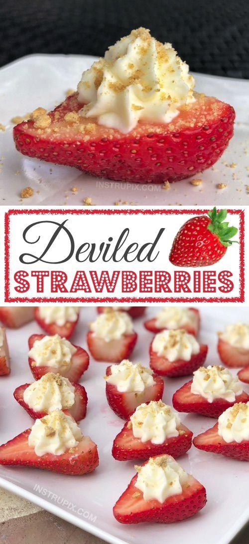 Deviled Strawberries