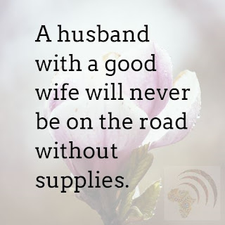 African Proverb for Men About Woman
