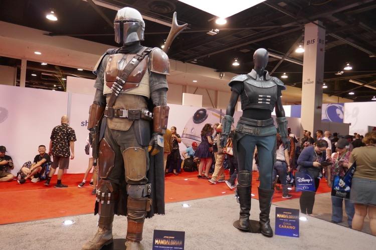 Mandalorian costumes D23 Expo 2019
