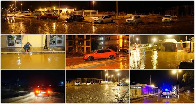 Δείτε σε βίντεο και 43 φωτογραφίες τις νέες πλημμύρες στην Ηγουμενίτσα