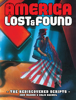 America Lost and Found cover - person with American Flag