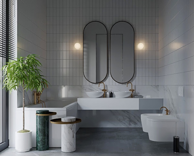 Design For Small Bathroom