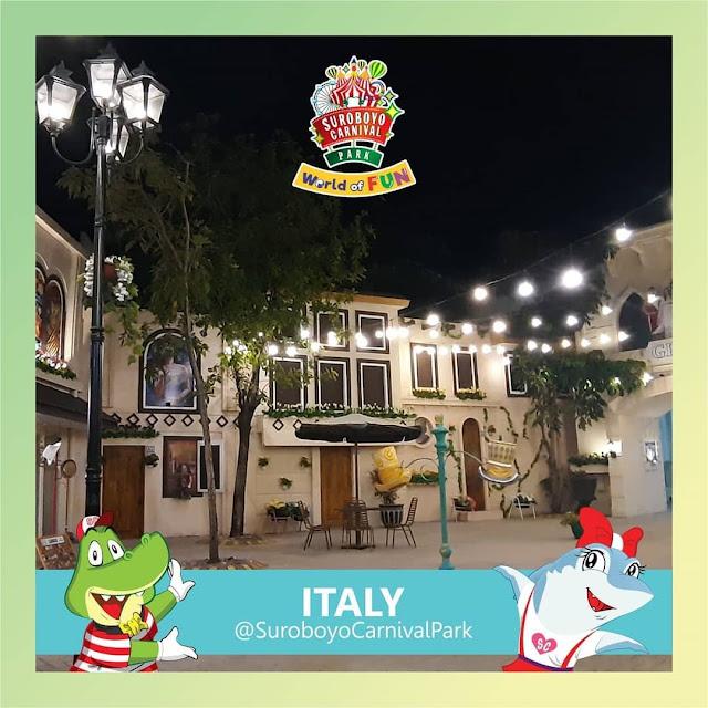 Zona Italy Suroboyo Carnival Park
