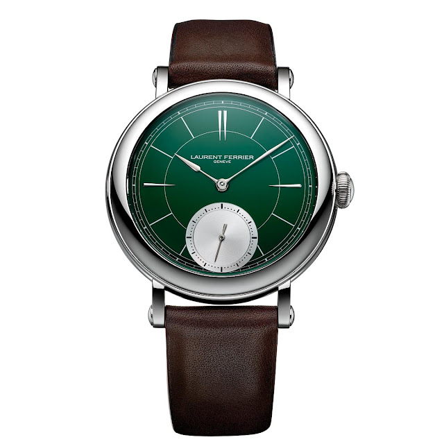 Laurent Ferrier Galet Micro-Rotor Montre Ecole British Racing Green
