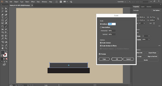 Create Stairs in Adobe Illustrator