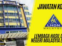 Jawatan Kosong Terkini Lembaga Hasil Dalam Negeri Malaysia (LHDN) | Tarikh Tutup: 18 September 2019