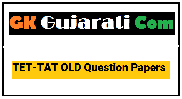 TET-TAT OLD Question Papers