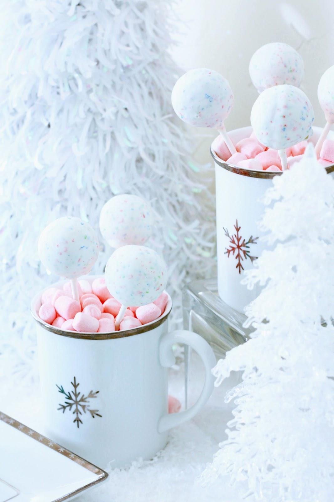 Worth Pinning Winter Wonderland Dessert Party
