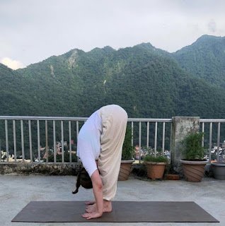 Utthanasana Simple yoga exercises to get natural glow on your face