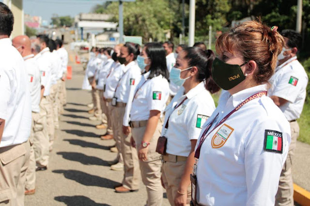 Supervisa comisionado del INM operativos de control y verificación migratoria en 'El Ceibo', Tabasco