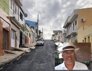Tambor, a rua em que eu morava e o asfalto que moderniza 55 anos de história - Por Professor Percinaldo Toscano