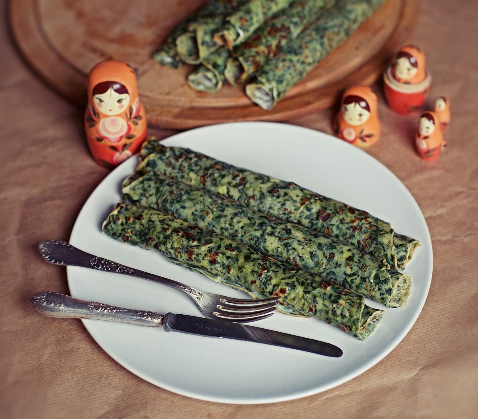 Smaki Prowincji Bliny Naleśniki Rosyjskiej Kuchni