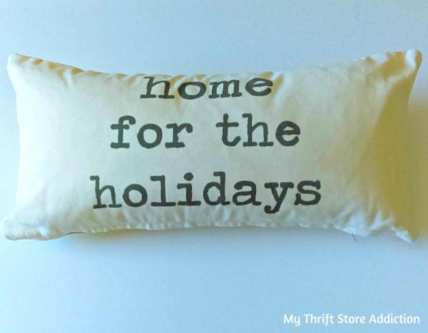 Seasonal pillows