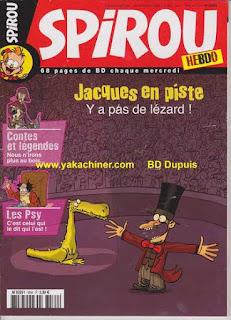 Jacques, Lézard