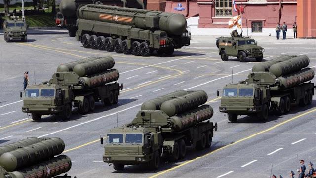 EEUU amenaza con cesar venta de armas a India si esta compra S-400