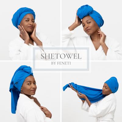 Natural Hair Towel