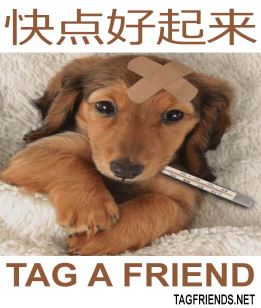 How To Say Get Well Soon In CHINESE