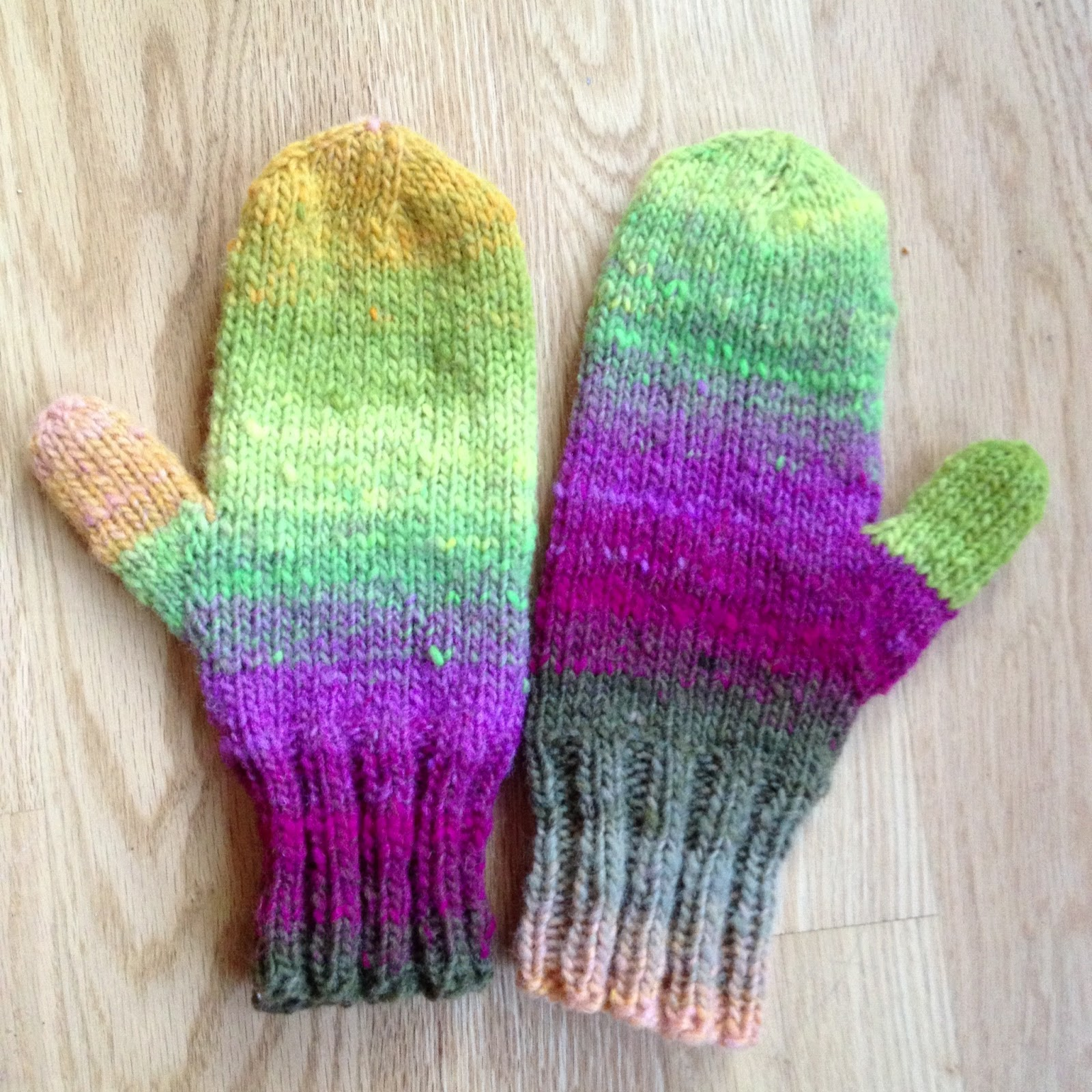 Susan B. Anderson: Waiting for Winter Mittens & Fingerless ...