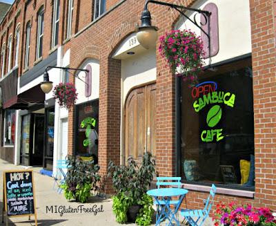 Sambuca Cafe Vassar Michigan exterior