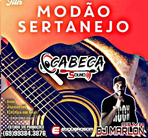 CD CABEÇA SOUND ESPECIAL SERTANEJO MODÃO VOL.2 - DJ MARLON SILVA
