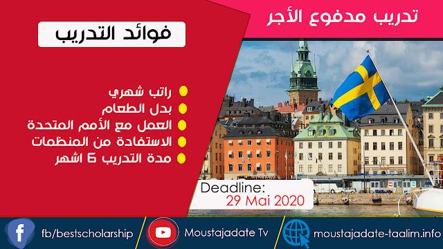 تدريب داخلي للمفوضية السامية للأمم المتحدة لشؤون اللاجئين 2020-21 في السويد