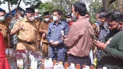Gubernur Mahyeldi Serahkan Bantuan 2.400 Stup Lebah Madu Kelulut