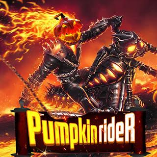 Jogo online grátis do Halloween Pumpkin Rider HTML5