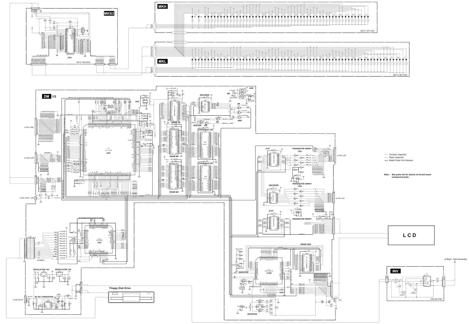 keyboard sustain pedal wiring diagram