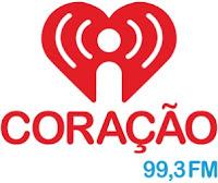 Rádio Coração FM 99,3 de Rondonópolis MT