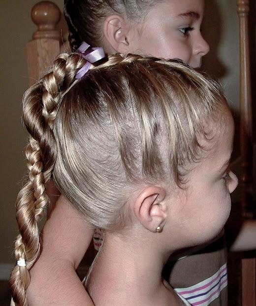 hairstyles girls ponytail