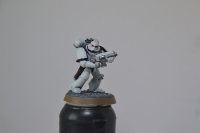 Lunar Wolves Tactical Marine (WIP)