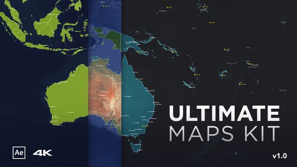 Ultimate Maps Kit[Videohive][After Effects][27148301]