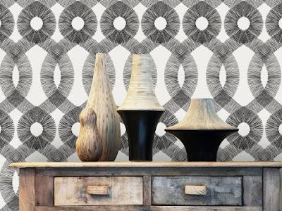 Wallpaper como elemento de decoración