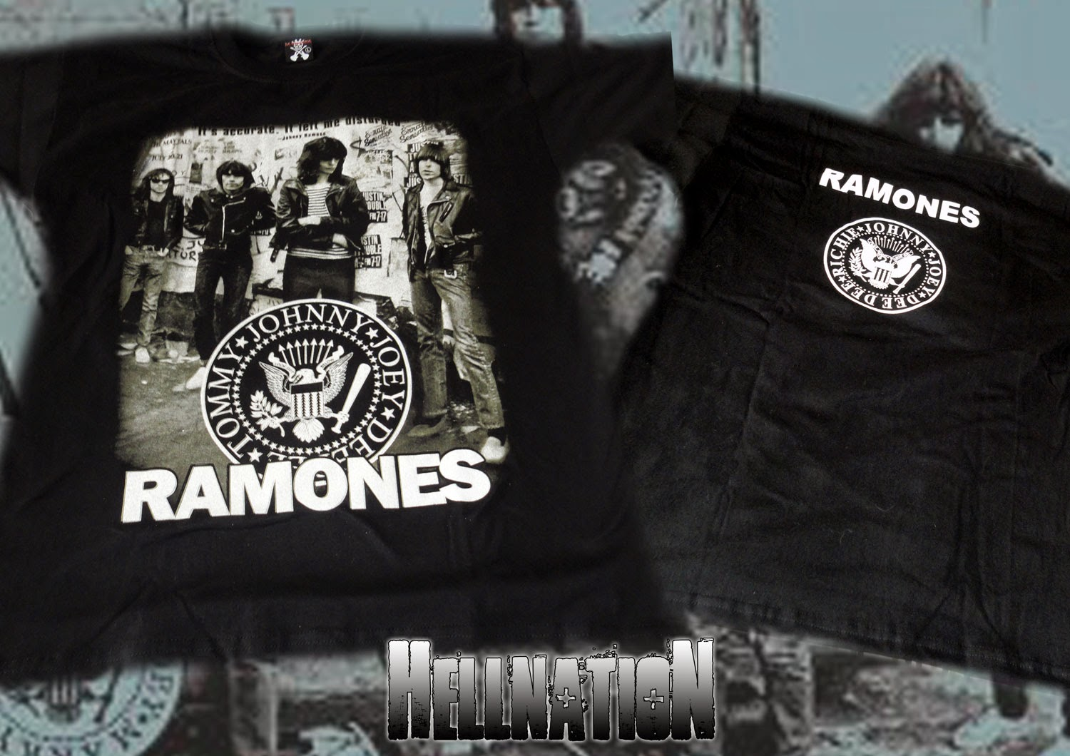 Here are all the products for Ramones. If it is not hyper linked, you can request that it be out online for purchase, otherwise, it is coming soon.