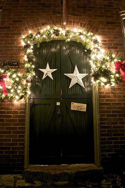 Of Christmas Door, Decoration Of Christmas Front Door , New 2011 Ideas