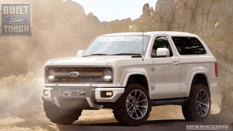 Ford Bronco thế hệ mới trông như thế này?