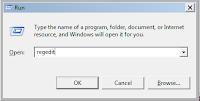 Registry Editor, mengedit registry untuk merubah nilai display maximum netbook.
