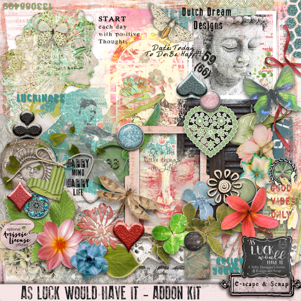As luck would have it by Dutch Dream Designs