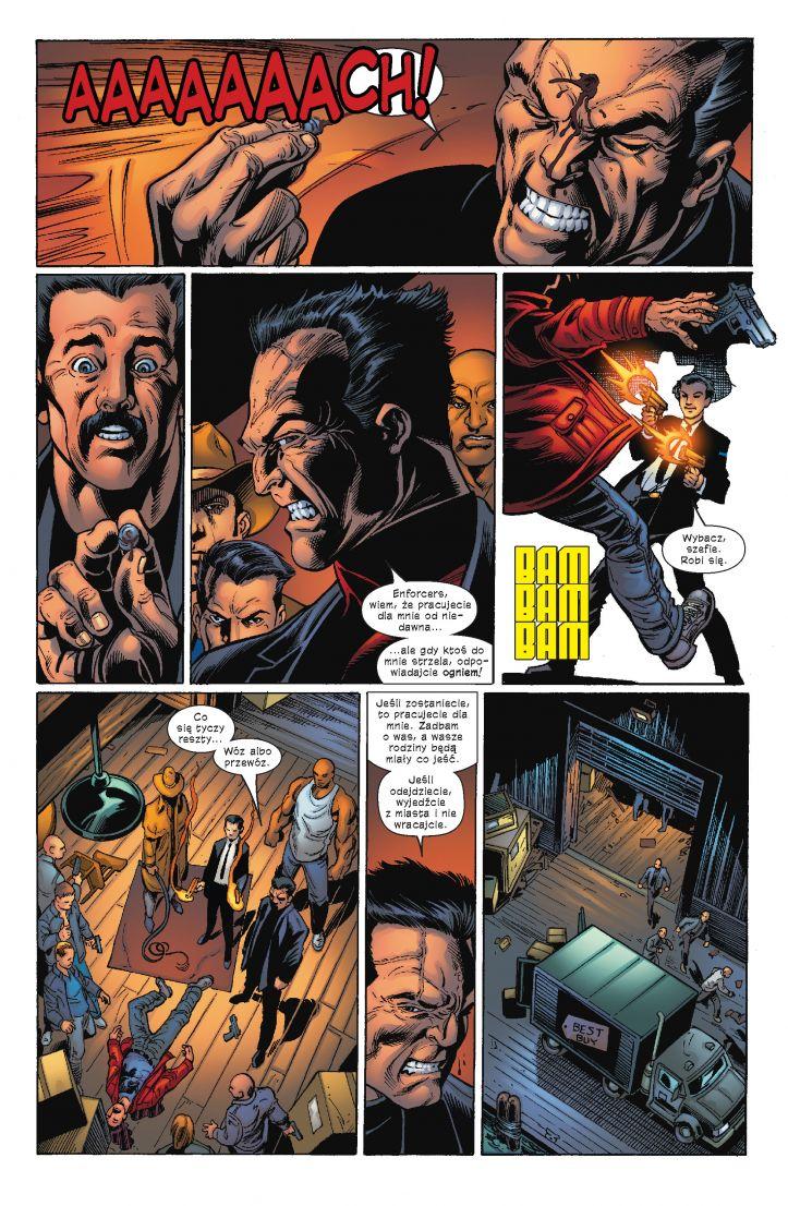 Ultimate Spider-Man tom 7 przykładowa strona