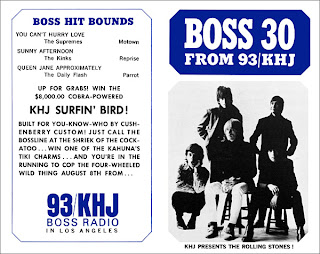 KHJ Boss 30 No. 55 - The Rolling Stones